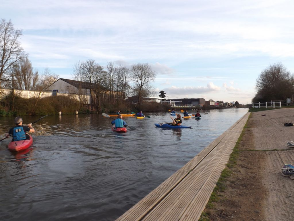 Coaching on the canal