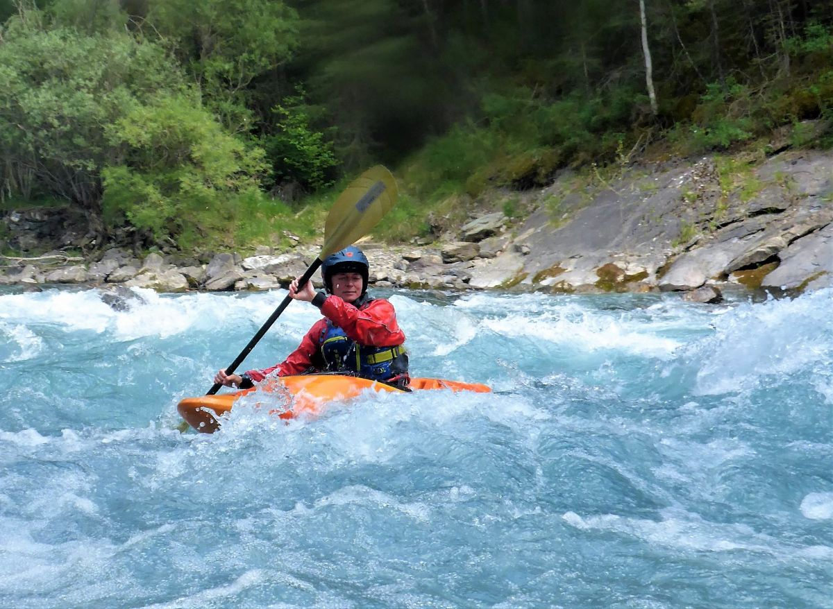 Alps whitewater trip